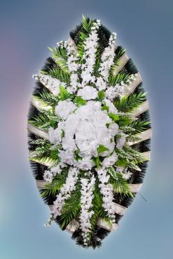 Венок из искусственных цветов Элит-4