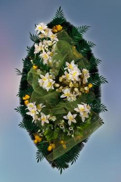Венок из искусственных цветов Элит-7