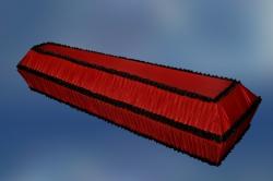 Гроб обитый тканью «Гофре»