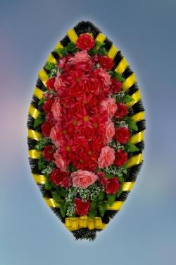 Венок из искусственных цветов Заказ-1