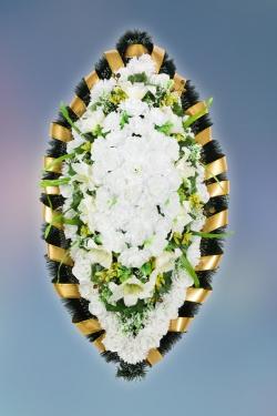 Венок из искусственных цветов Заказ-10