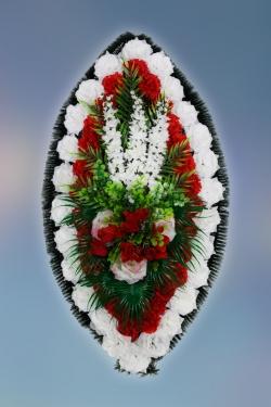 Венок из искусственных цветов Заказ-11