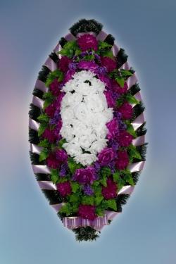 Венок из искусственных цветов Заказ-12