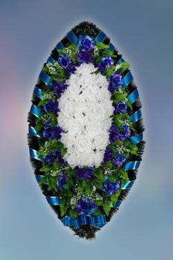 Венок из искусственных цветов Заказ-14