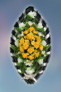Венок из искусственных цветов Заказ-18