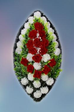 Венок из искусственных цветов Заказ-19