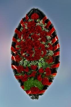 Венок из искусственных цветов Заказ-20
