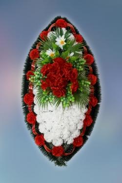 Венок из искусственных цветов Заказ-26