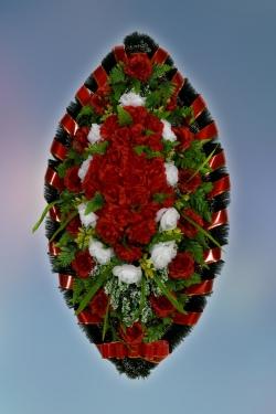 Венок из искусственных цветов Заказ-27