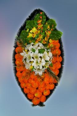 Венок из искусственных цветов Заказ-28