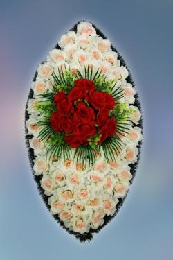 Венок из искусственных цветов Заказ-31