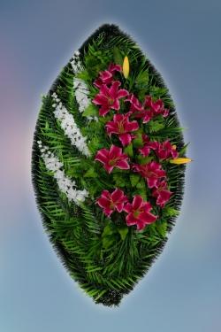 Венок из искусственных цветов Заказ-32