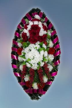 Венок из искусственных цветов Заказ-34