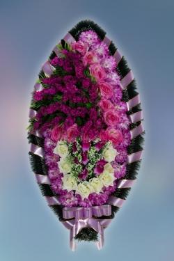 Венок из искусственных цветов Заказ-6