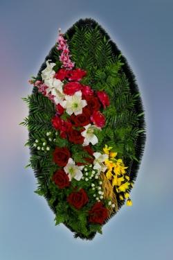 Венок из искусственных цветов Заказ-8