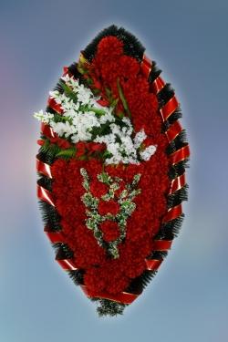 Венок из искусственных цветов Заказ-9