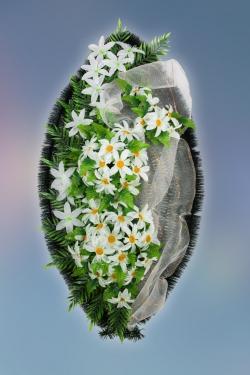 Венок из искусственных цветов Заказ-5