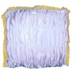 Подушка под голову атласная спандекс
